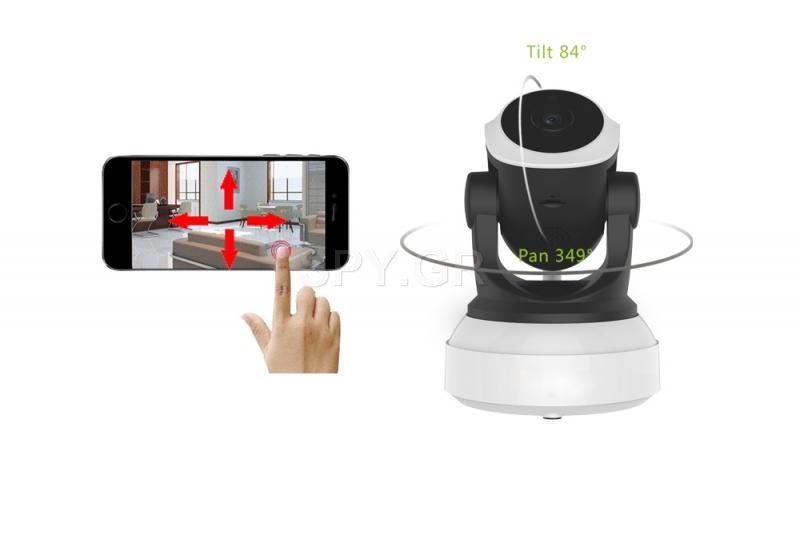 WiFi IP μετακινούμενη κάμερα