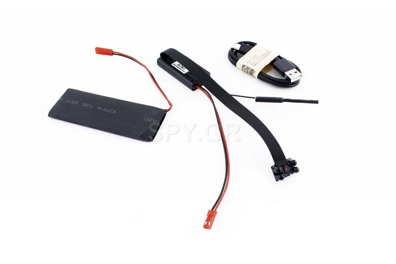 IP κάμερα για ενσωμάτωση με μαύρες διόδους