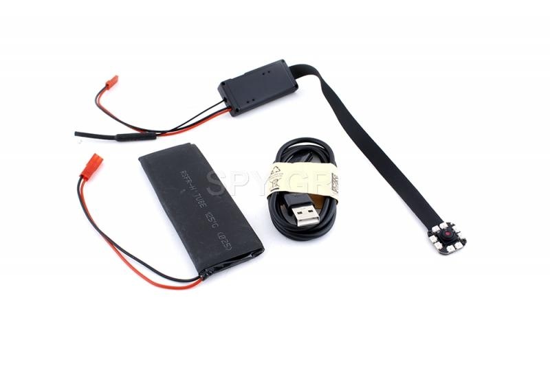 IP κάμερα 4Κ με έξι διόδους