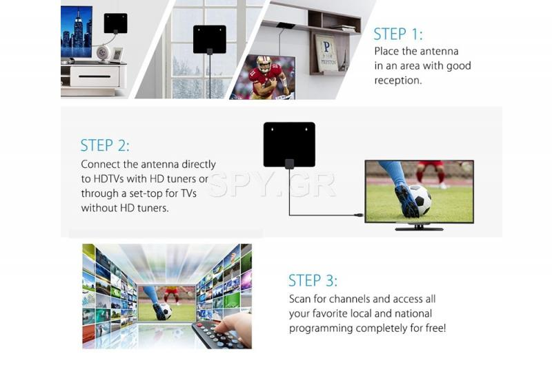 Κεραία για επίγεια ψηφιακή τηλεόραση