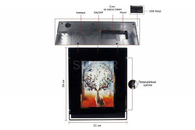 IP κάμερα σε πίνακα