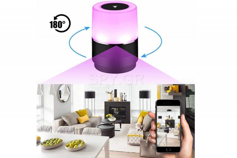 Wi-fi κάμερα λάμπα