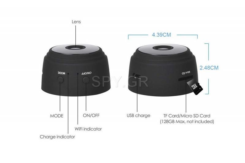 Μίνι HD p2p κάμερα Wi-Fi