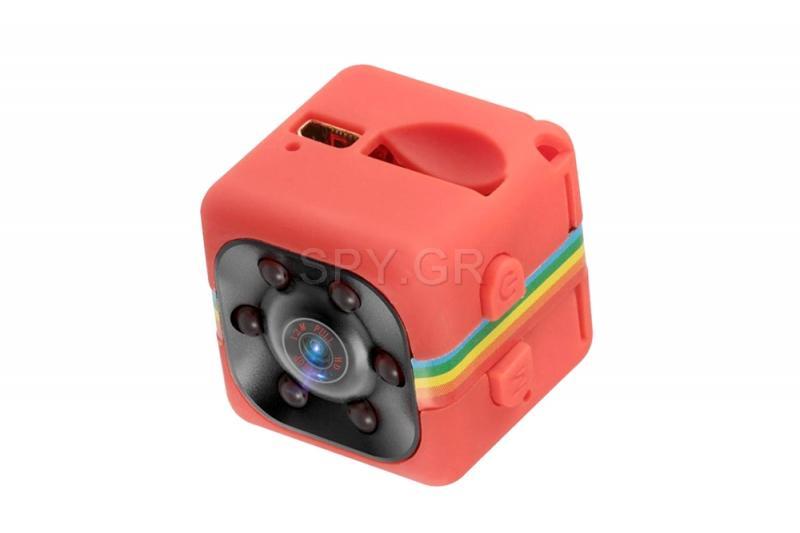 FullHD μίνι κάμερα με ανιχνευτή κίνησης