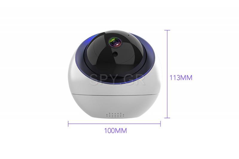 Περιστρεφόμενη IP Κάμερα