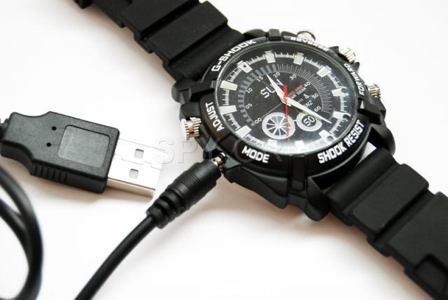Αδιάβροχο ρολόι με Full HD Κάμερα