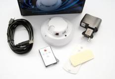 Κρυφή κάμερα σε αισθητήρα καπνού με 4 GB ενσωματομένη μνήμη