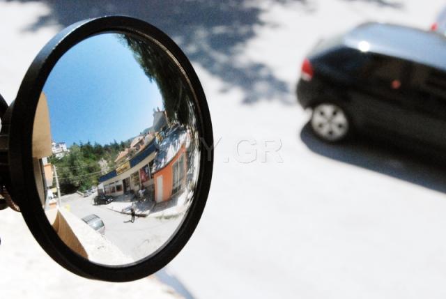 Κάμερα μέσα σε καθρέφτη