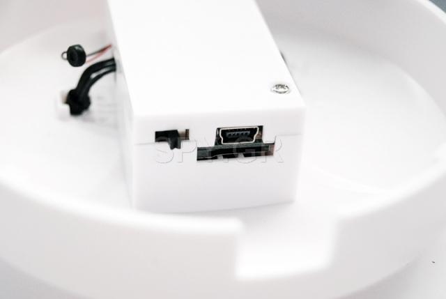 Κάμερα,κρυμμένη σε συσκεύη ανίχνευσης καπνού