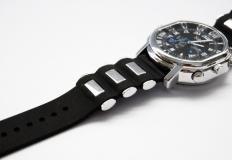 Κρυφη κάμερα μέσα σε ρολόι με μαύρο λουρακι