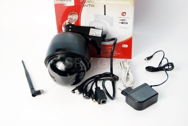 IP camera οροφής με δυνατότητα zoom