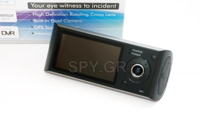 Κάμερα με δυο φακούς και GPS