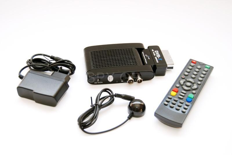 Βολικός DVB-T αποκωδικοποιητής
